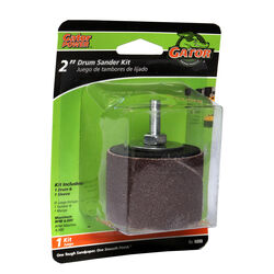 Gator  2 in. Dia. x 2 in. L Aluminum Oxide  Drum Sander Kit  50 Grit Coarse  1 pc.