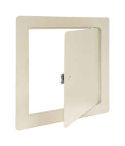 Eastman  12 in. H x 12 in. W Steel  Access Panel  White