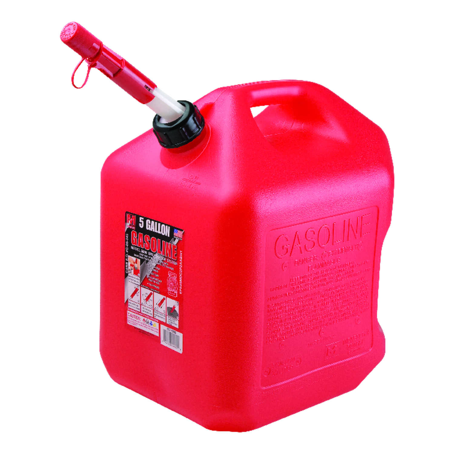 Midwest Can Plastic Gas Can 5 Gal Ace Hardware