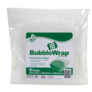 Duck  9 in. W x 9 in. L Bubble Bags