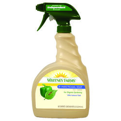 Whitney Farms  Organic Liquid  Insecticidal Soap  32 oz.