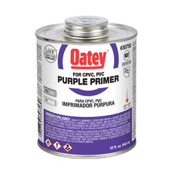 Oatey  Purple  Primer  For CPVC/PVC 32 oz.