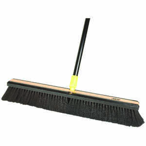 Ace  Smooth Surface Push Broom  60 in. Horse Hair