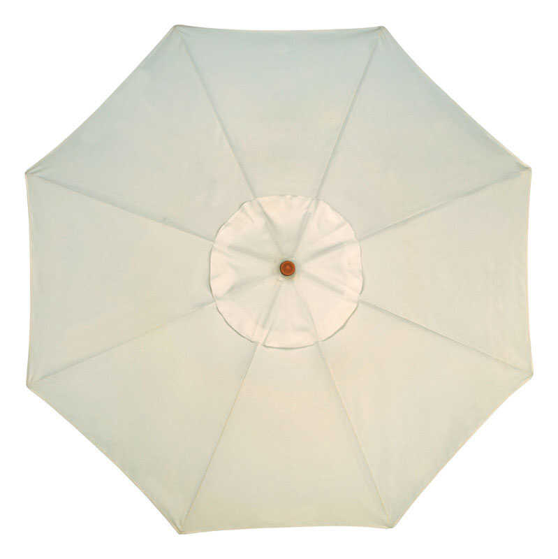 Sunline  Traditional  11 ft. Natural  Market Umbrella