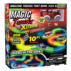 Magic Tracks  As Seen On TV  Xtreme Rescue Set  Plastic  Multicolored  200 pc.