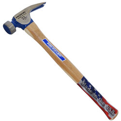 Vaughan  23 oz. Milled Face  California Framing Hammer  17 in. Hickory Handle