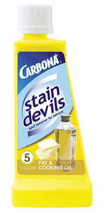 Carbona  Stain Devils Fat & Cooking Oil  No Scent Stain Remover  Liquid  1.7 oz.