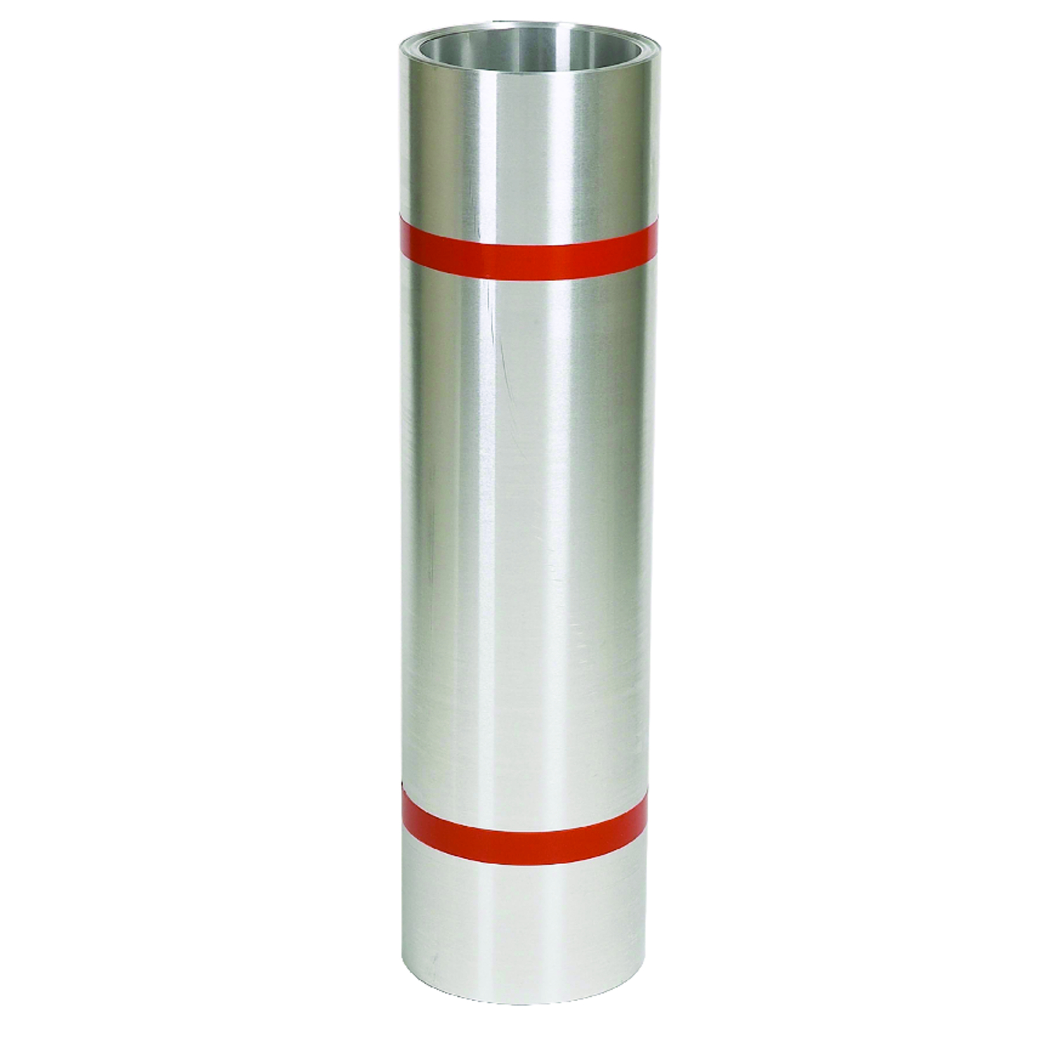 Amerimax  16 in. H x 16 in. W x 50 ft. L Silver  Cylindrical  Roll Valley Flashing  Galvanized Steel