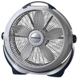Lasko Wind Machine 23-3/8 in. H 3 speed Floor Fan