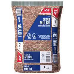 Ace  Brown  Cedar  Mulch  2 cu. ft.