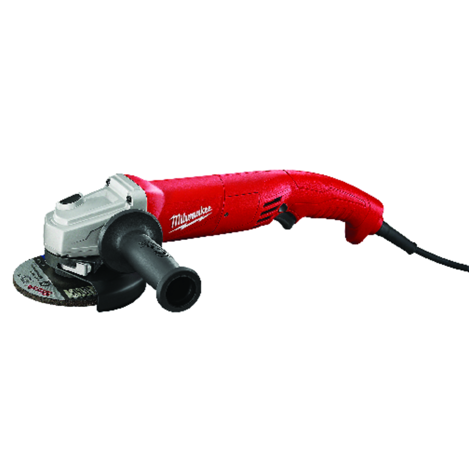 Milwaukee  AC/DC  5 in. 120 volt 11 amps Corded  Trigger Grip  Angle Grinder  11000 rpm