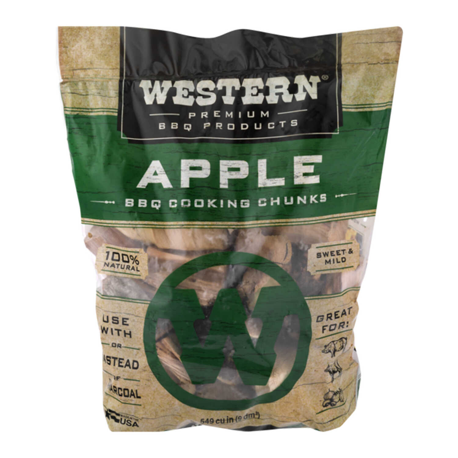 Western  Apple  Cooking Chunks  549 cu. in.