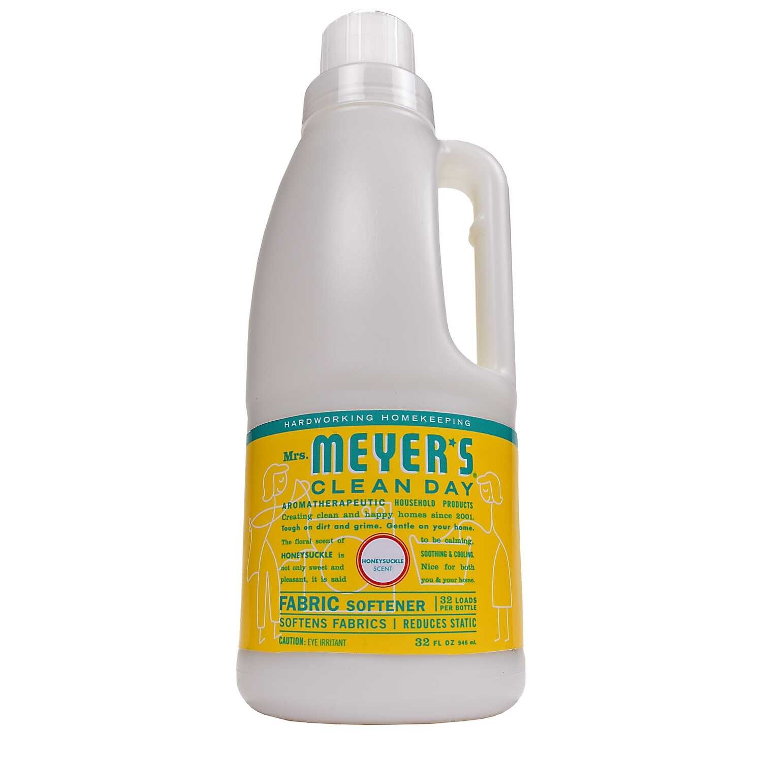 Mrs. Meyer's  Clean Day  Honeysuckle Scent Fabric Softener  Liquid  32 oz. 1 pk