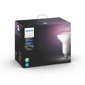 Philips  Hue  BR30  E26 (Medium)  LED Smart Bulb  Color Changing  65 Watt Equivalence 1 pk