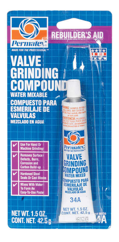 Permatex  Valve Grinding Compound  1 pc.