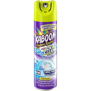 KABOOM  Foam-Tastic  No Scent Bathroom Cleaner  19 oz. Foam