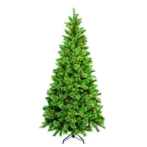 Greenfields  Clear  Prelit 7-1/2 ft. Cashmere  Artificial Tree  400 lights 812 tips