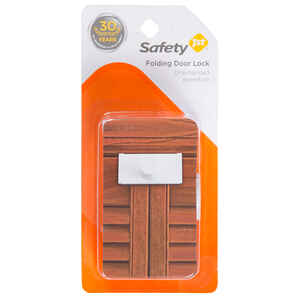 Safety 1st  White  Plastic  Bi Fold Door Locks  1