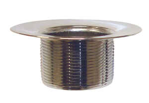 Ace  1-1/2 in. Chrome  Brass  Shower Drain Strainer