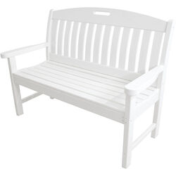Hanover  Avalon  Bench  Wood  37-1/2 in. H x 25 in. L x 51.75 in. D