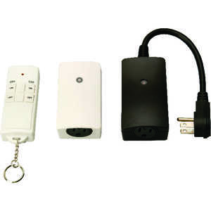 Woods  23 amps 12 volt Wireless Remote Outlets  3 pk Assorted  Wireless