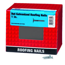 Ace  1 in. Roofing  Hot-Dipped Galvanized  Steel  Nail  Large  5 lb.
