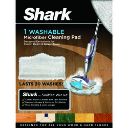 Shark  Steam and Spray  Cleaning Pads  For Steam Mop replacement pads 1 pk