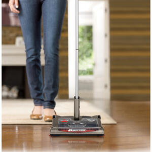 Bissell  Perfect Sweep Turbo  Bagless  Cordless  Rechargeable Sweeper  Standard  Gray