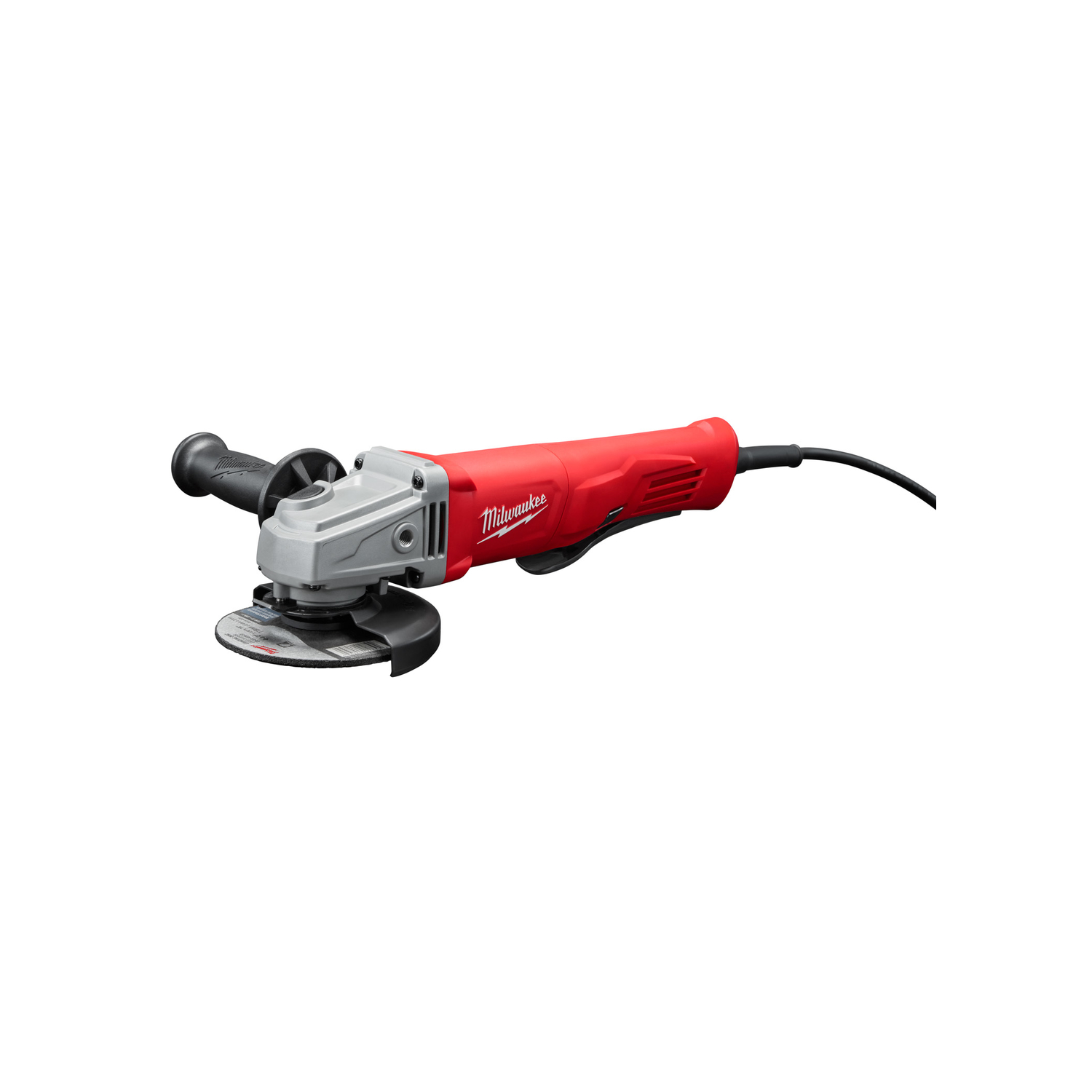 Milwaukee  4-1/2 in. 120 volt Corded  Straight Handle  11 amps Angle Grinder  11000 rpm