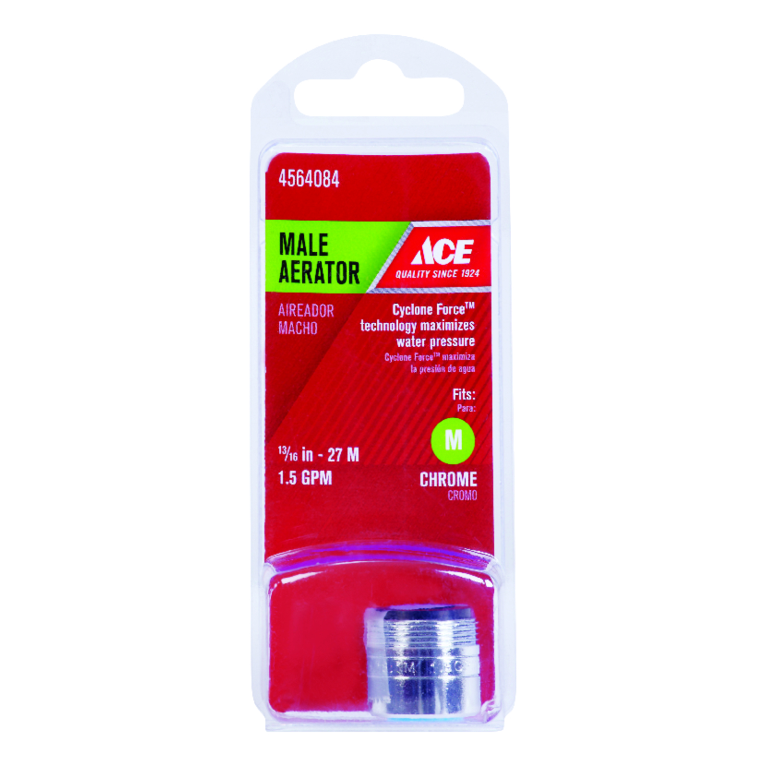 Ace  Faucet Aerator  13/16 in.  x 0.00 in.  Chrome