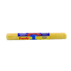 Purdy  Contractor 1st  Polyester  1/2 in.  x 18 in. W For Semi-Smooth Surfaces Paint Roller Cover  1