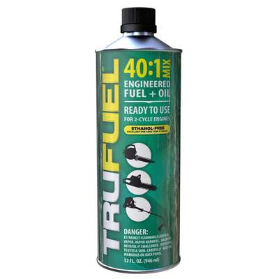 TruFuel  Ethanol-Free 2-Cycle  40:1  Premixed Gas and Oil  32 oz.