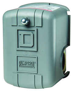 Square D  Pumptrol  80 psi 100 psi Pressure Switch