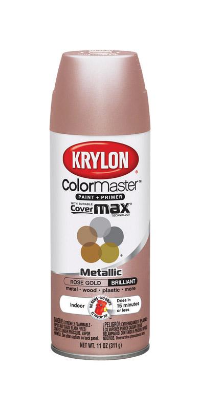 Krylon Colormaster Rose Gold Spray Paint 11 Oz Ace Hardware