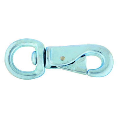 Campbell Chain  7/8 in. Dia. x 4-7/8 in. L Iron  Animal Tie Snap  300 lb.