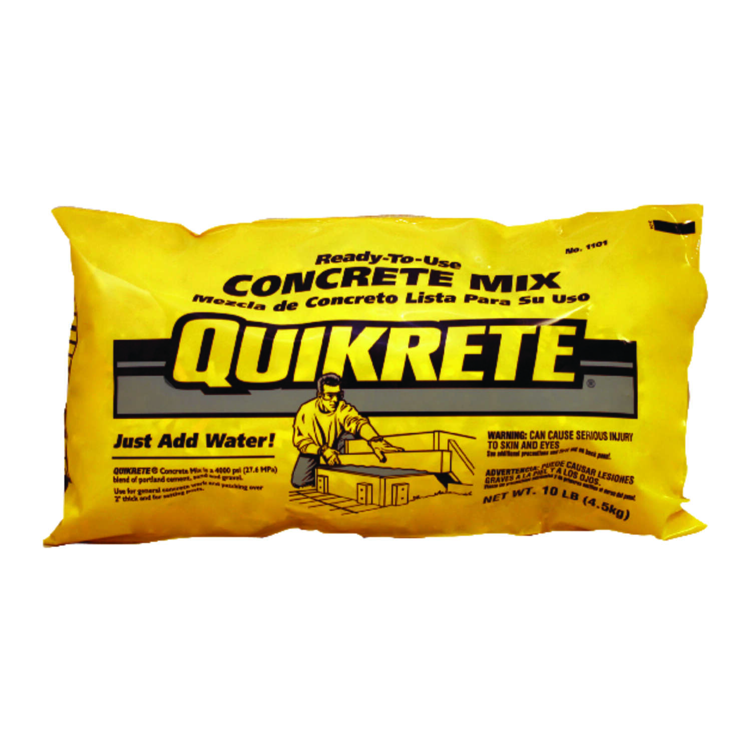 Quikrete  Concrete Mix  10 lb.