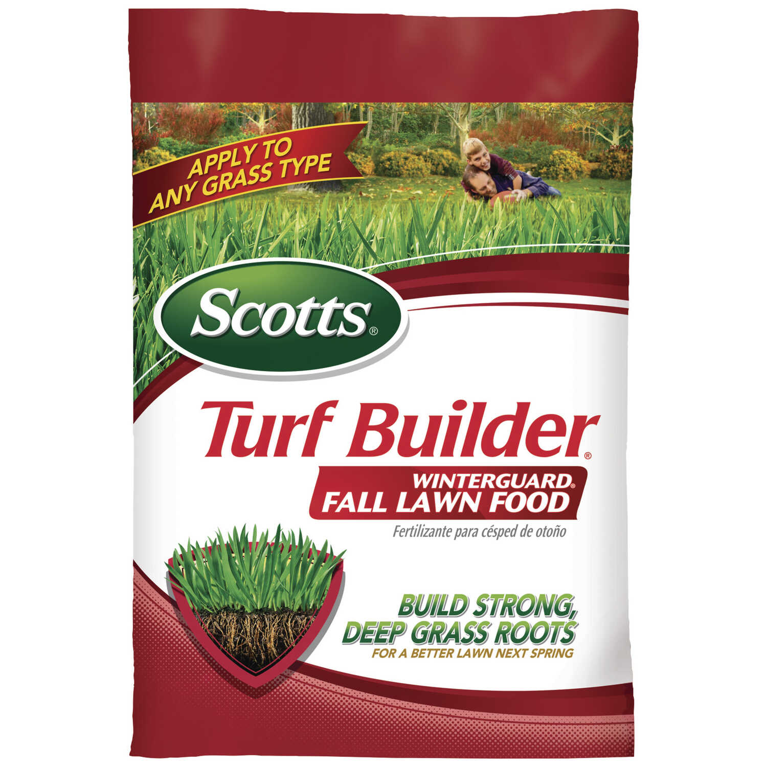 Scotts  Turf Builder Winterguard  32-0-10  Lawn Food  For All Grass Types 39.23 lb. 15000 sq. ft.