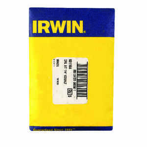 Irwin  1/4 in.  x 4 in. L Cobalt Steel  Drill Bit  1 pc.