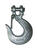 Baron  Large  Galvanized  Silver  Carbon Steel  5/16 in. L Slip Hooks  4700 lb. 1 pk
