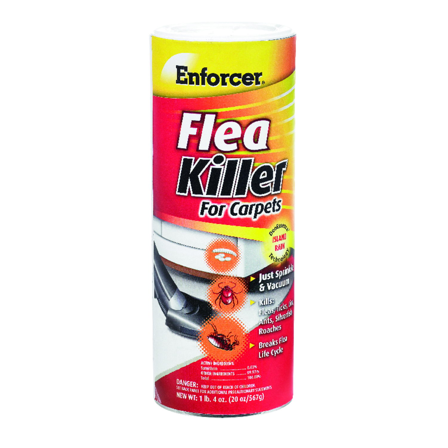 Enforcer  Flea Killer for Carpets  Insect Killer  20 oz.