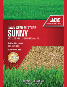 Ace  Ace Sunny  Mixed  Lawn Seed Mixture  1 lb.