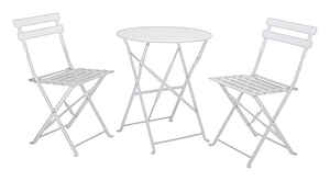 Living Accents  3 pc. Trentino  Powder Coated  Bistro Set