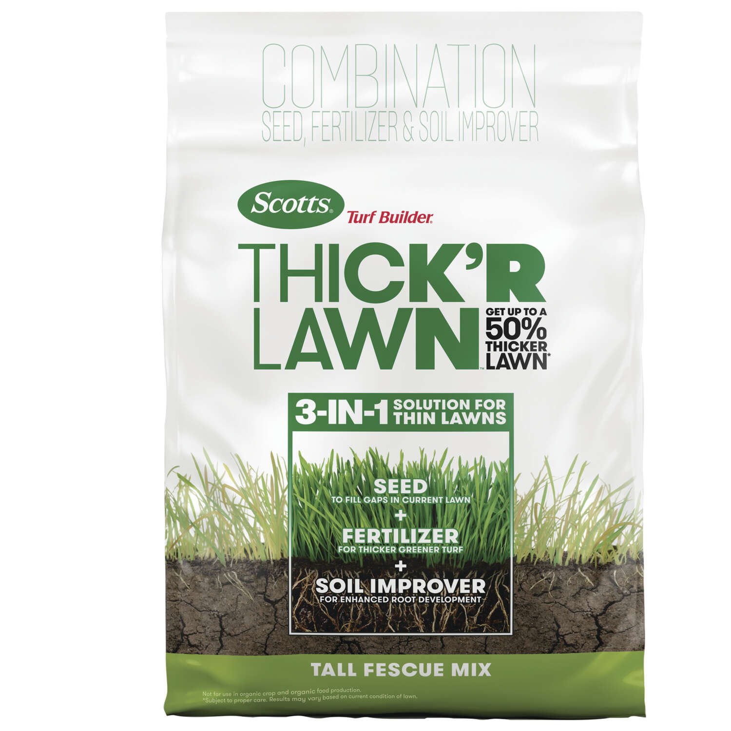 Scotts Turf Builder 9 1 1 Fertilizer Amp Seed For Tall