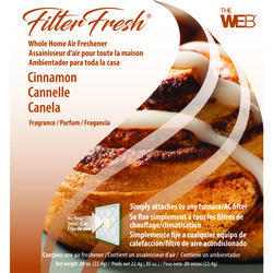 Web FilterFresh Cinnamon Scent Air Freshener 0.8 oz. Gel