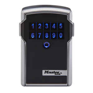 Master Lock  3.25 in. W Hardened Steel  4-Digit Combination  Electronic Lock Box  1 pk