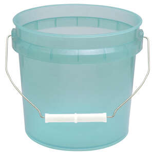 Leaktite  Green  1 gal. Plastic  Bucket