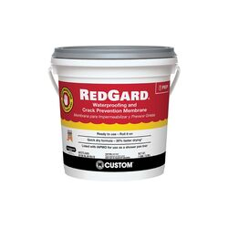 Custom Building Products  RedGard  Ready to Use Pink  Waterproofing and Crack Prevention  1 gal.