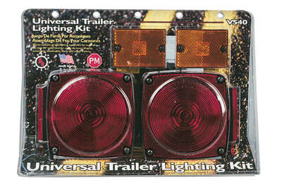 Peterson Red Square Trailer Light Kit