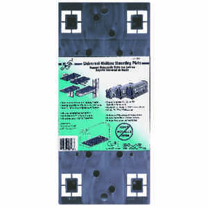 Gibraltar Mailboxes  Black  Plastic  Mailbox Mounting Board  13-1/16 in. L