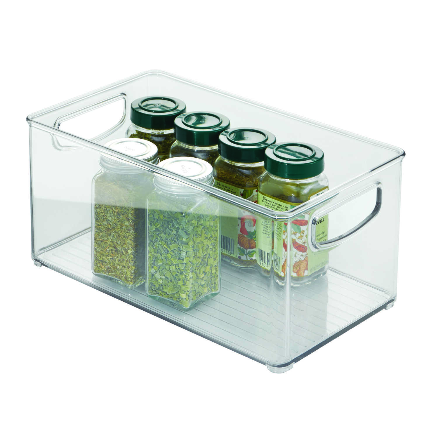 InterDesign  6 in. H x 5 in. W x 10 in. D Stackable Storage Bin